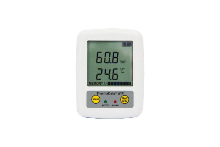 Mesureur et Enregistreur digital de température et d'humidité ThermaWIFI-Data