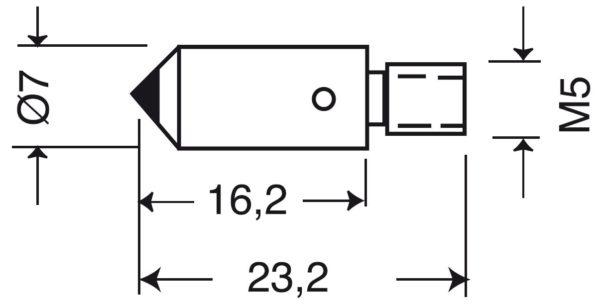 Pénétrateurs pour duromètres