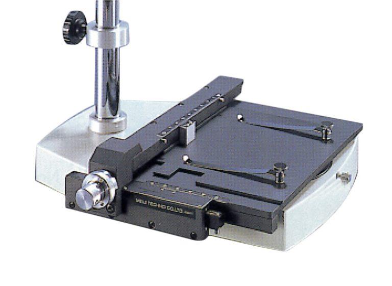 Table à mouvements croisés pour microscopes