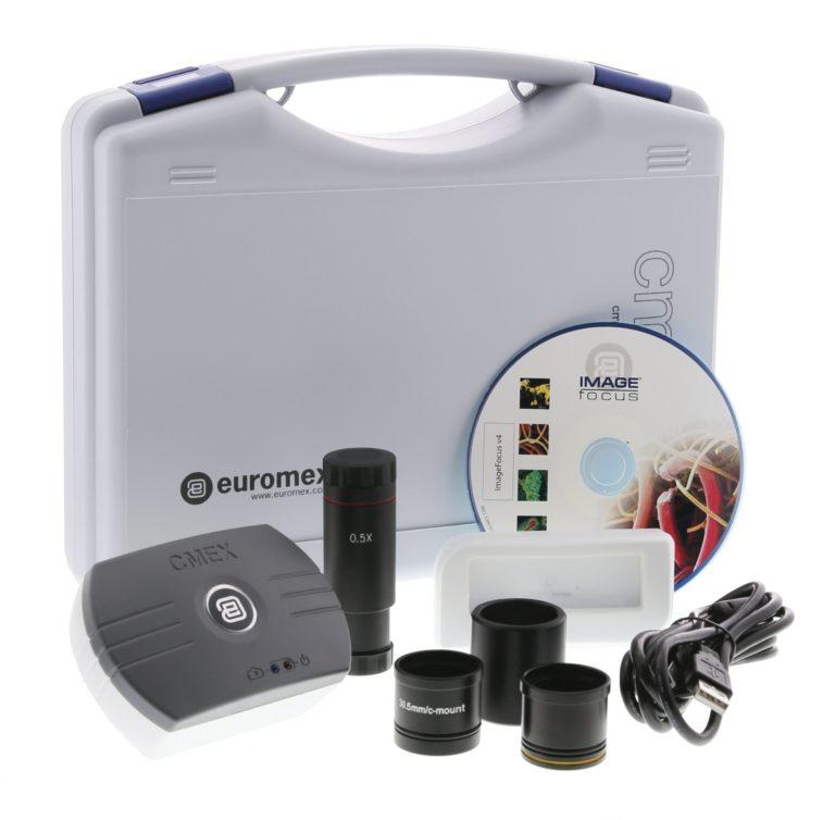 Logiciels et cameras pour microscopes