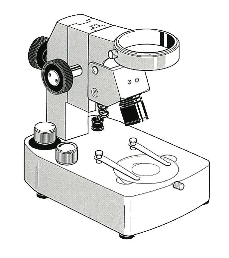 Statif pour tête optique