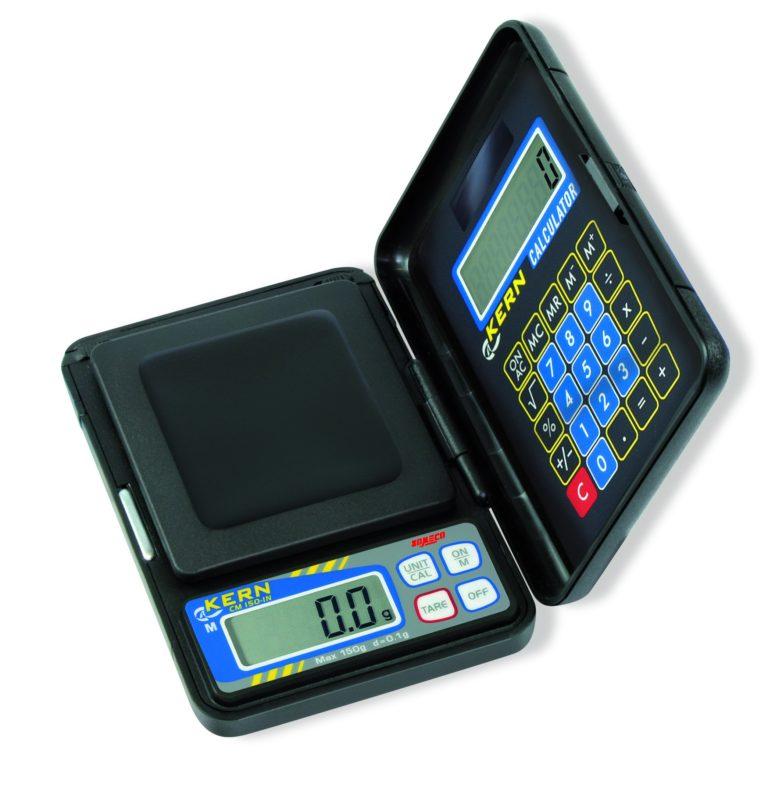 Balance de poche pliante avec calculatrice