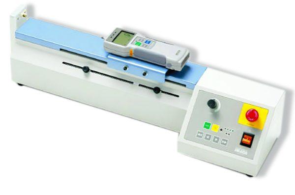 Banc d'essai motorisé horizontal avec cycles manuel et automatique