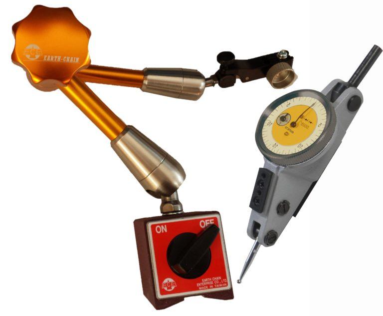 Comparateur analogique à aiguille - Pépitas - Supports pour comparateurs