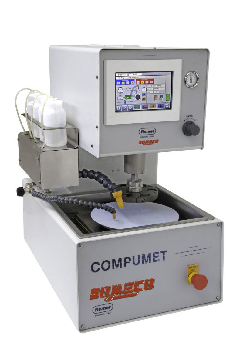 Polisseuse métallographique automatique