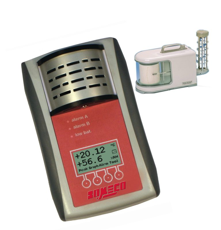 Contrôle d'ambiance enregistreur de températures - Enregistreur à diagramme