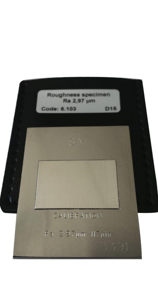 Etalons pour calibrage et contrôle des rugosimètres