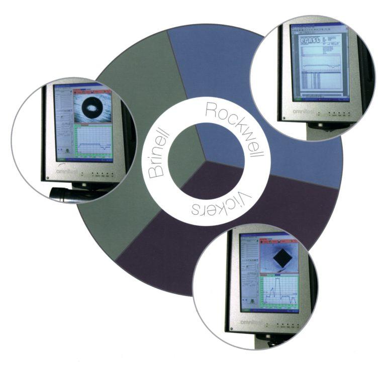 Machines universelles duromètre 3 essais