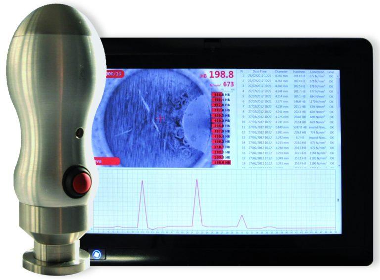 Système de mesure optique d'empreintes BRINELL