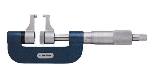 Micromètre à becs pour mesure extérieure