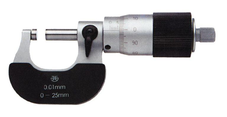 Micromètre d'extérieur à vis au pas de 1 mm