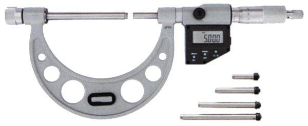Micromètre grande capacité à touches fixes interchangeables