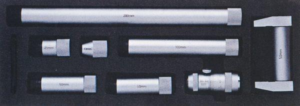 Jauge micrométrique d'intérieur à rallonges