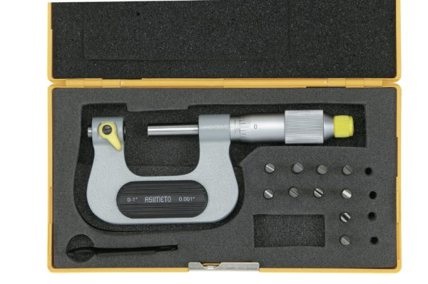 Micromètre d'extérieur pour mesure des filetages