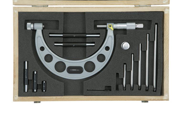Micromètre d'extérieur à touche fixe interchangeable