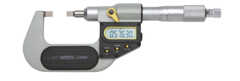 Micromètre d'extérieur à touches couteaux