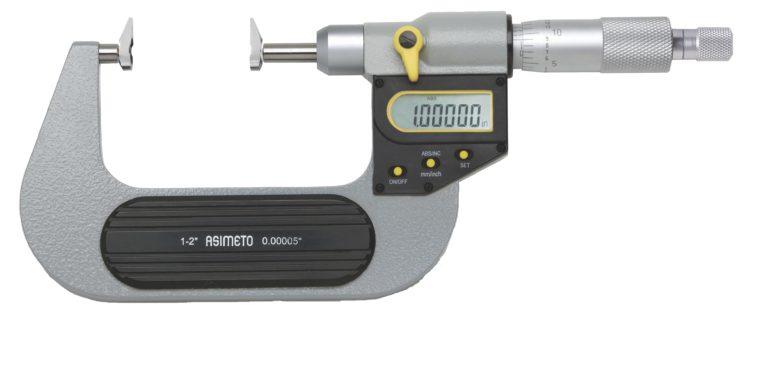 Micromètre d'extérieur à touches type mâchoires