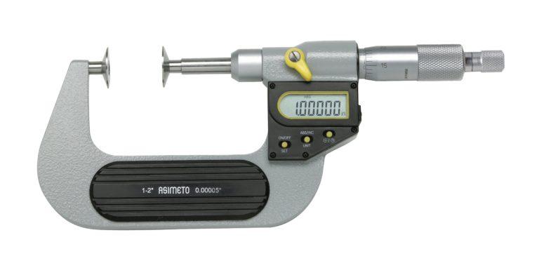 Micromètre d'extérieur à touches plateaux digital
