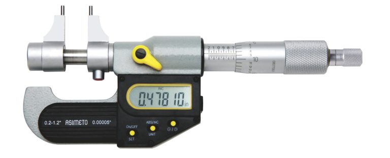 Micromètre d'intérieur à 2 touches digital