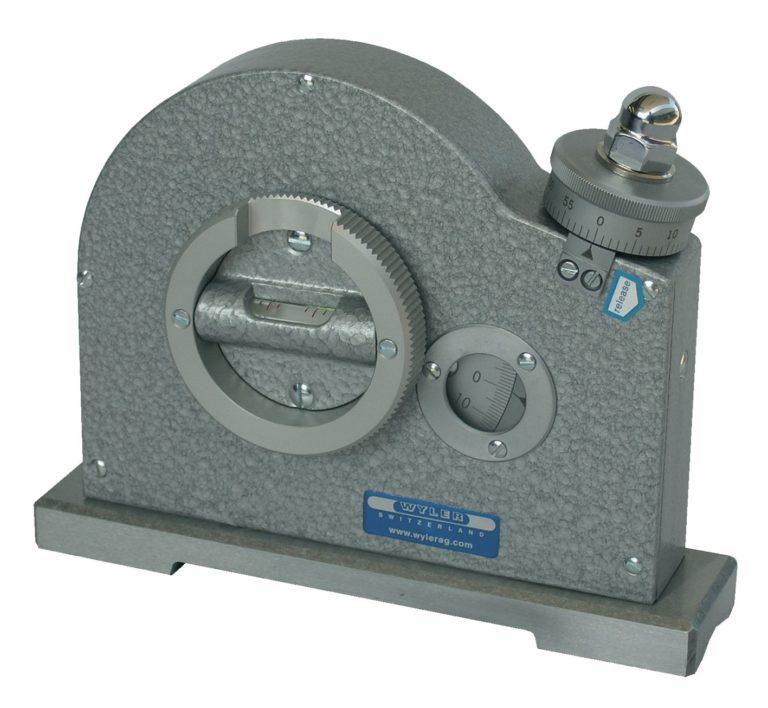 Inclinomètre à bulle de haute précision WYLER