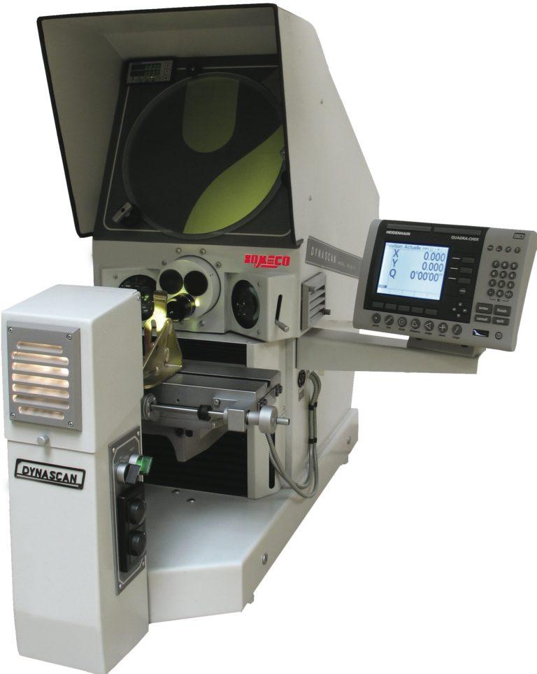 Projecteur de profils horizontal écran Ø300mm