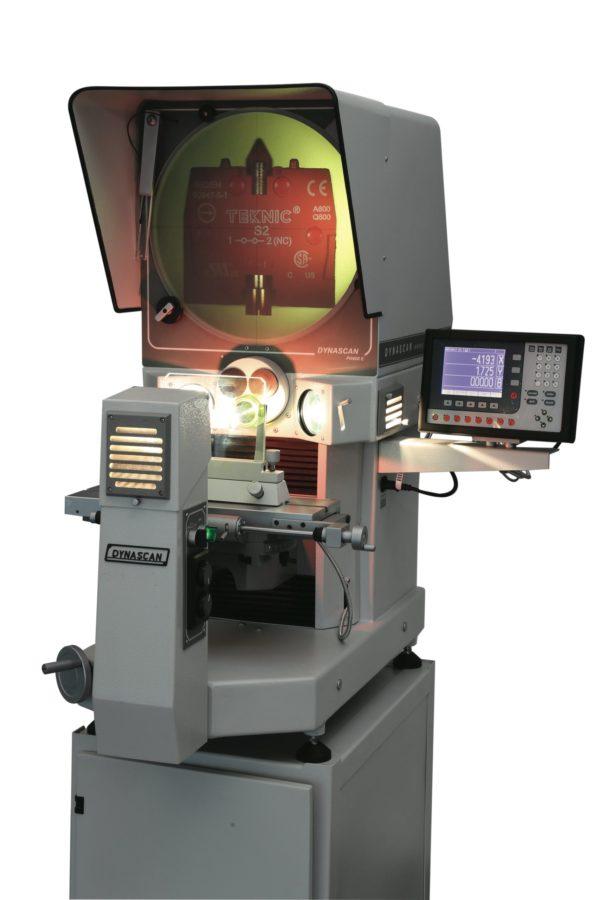Projecteur de profils horizontal écran Ø400mm