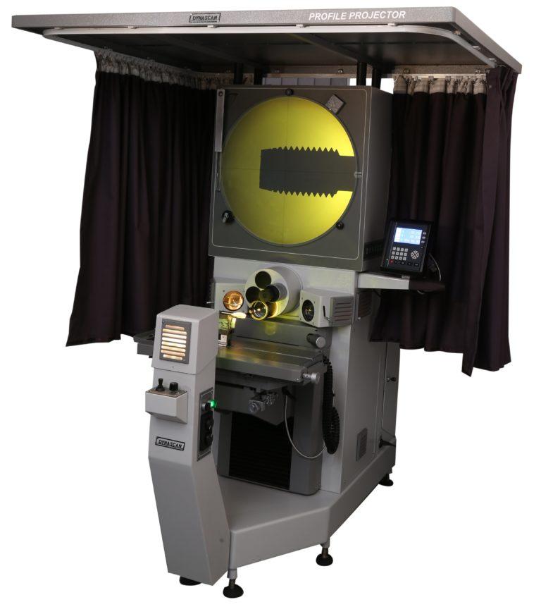 Projecteur de profils horizontal écran Ø600mm