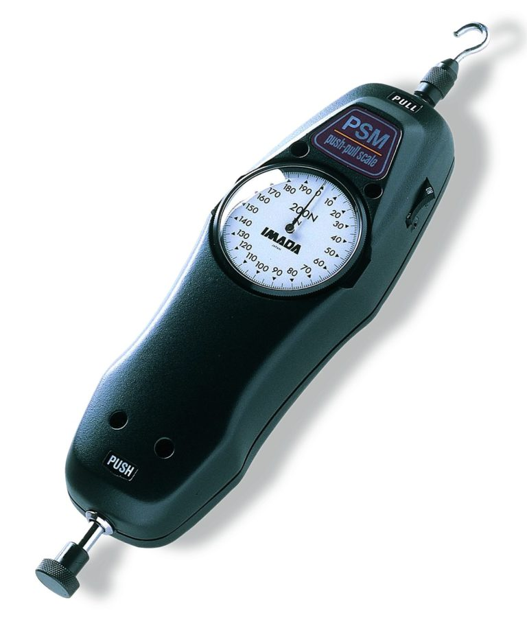 Dynamomètre analogique traction-compression PSM
