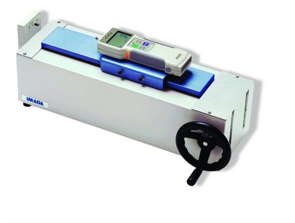 Banc d'essai manuel horizontal pour essai de traction-compression